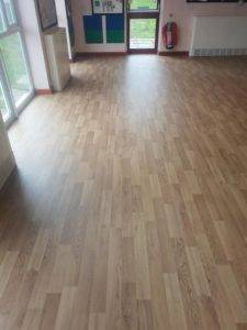 laminate flooring in large room