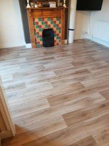 wooden flooring in lounge